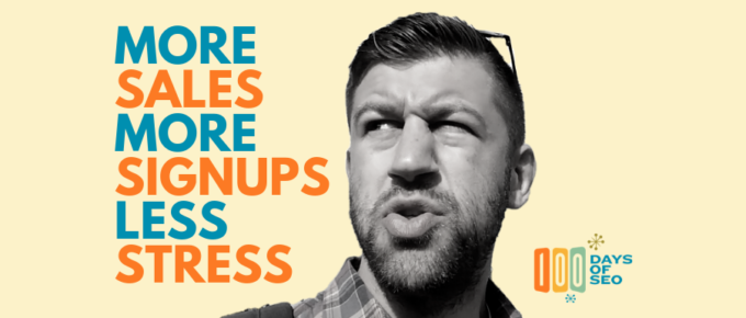 more sales more signups less stress with seo for saas companies