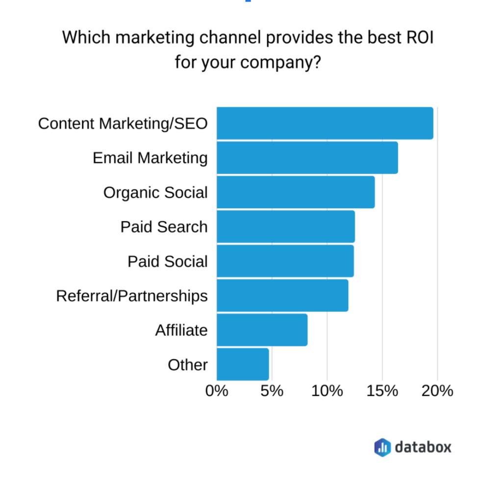 the roi of digitalmarketing